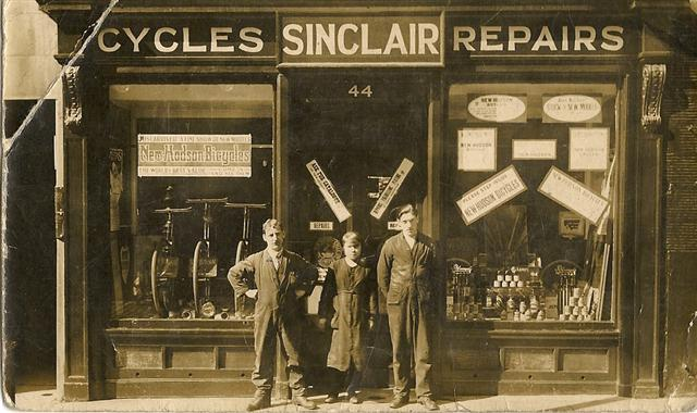Photo circa 1920's - John Sinclair pictured far left.