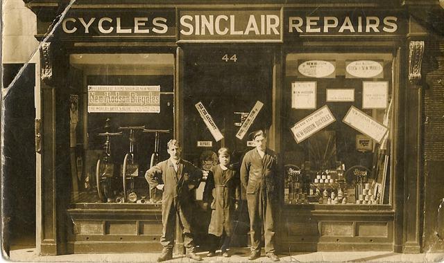 Photo circa 1920's - John Sinclair pictured far left.